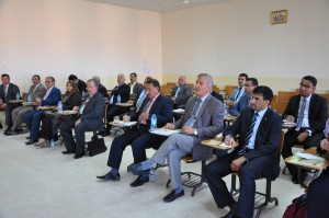 Meeting with universities from south of iraq. (Erbil)