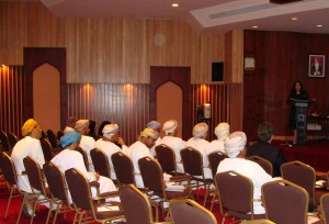 The visit to the Ministry of Agriculture and Fisheries in the Sultanate of Oman.