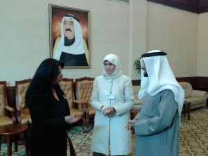 Meeting with Authority Manpower in Kuwait