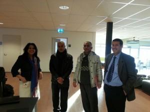 Basra university group in Holland (Livestock Tarining )