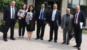 Delegation of  Sulaimani & Erbil Polytechnic Universities in Holland